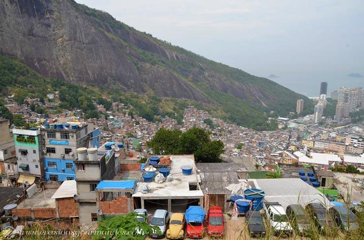 bresil favela rio